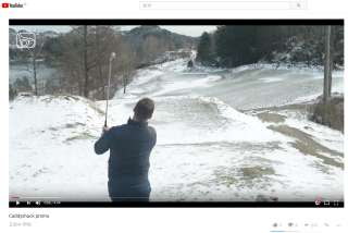 Our bravo golf simulator product introduction from Norway.